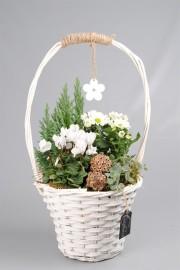 Корзинка цветов