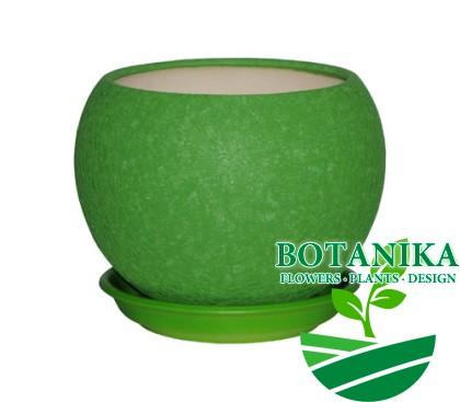 шар-1,4л-шелк-зеленый