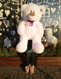 Большой белый медвежонок (110см)