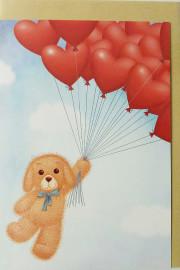 Собачка с шариками